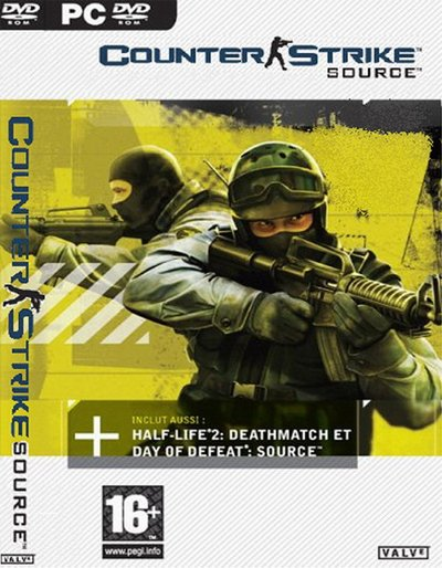Counter-Strike Source v1.0.0.73 + Автообновление (No-Steam) (2012) PC