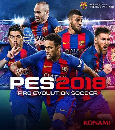 PES 2018 / Pro Evolution Soccer 2018: FC Barcelona Edition (2017) PC | RePack