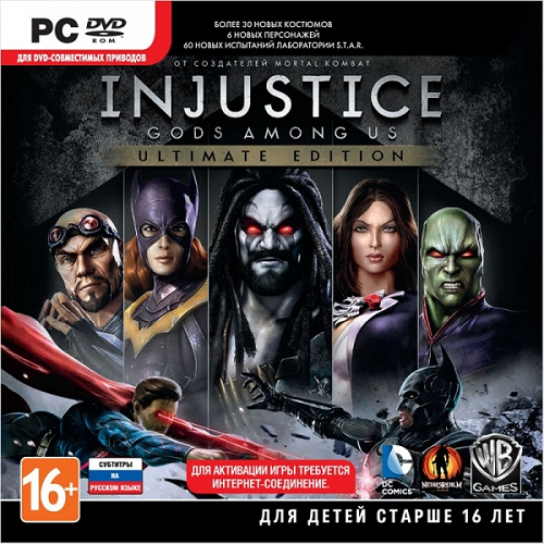 Injustice: Gods Among Us. Ultimate Edition [Update 5] (2013) PC | Repack